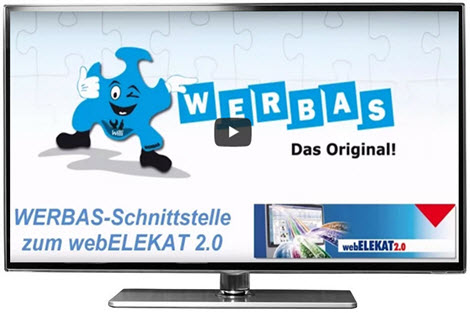 Video: webELEKAT 2.0-Schnittstelle in WERBAS