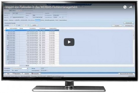 Video: Import von Fixkosten in das Flottenmanagement