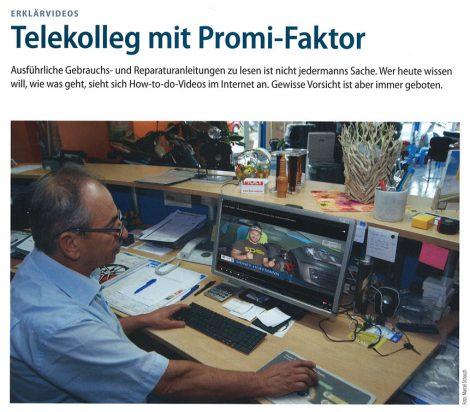 ERKLÄR VIDEOS Telekolleg mit Promi-Faktor