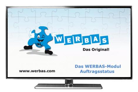 Video: WERBAS-Modul Auftragsstatus