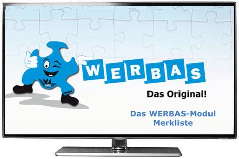 VIDEO: Das neue WERBAS-Modul Merkliste