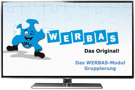 WERBAS-Modul Gruppierung