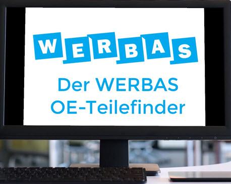 Der WERBAS OE-Teilefinder mit neuer Grafik