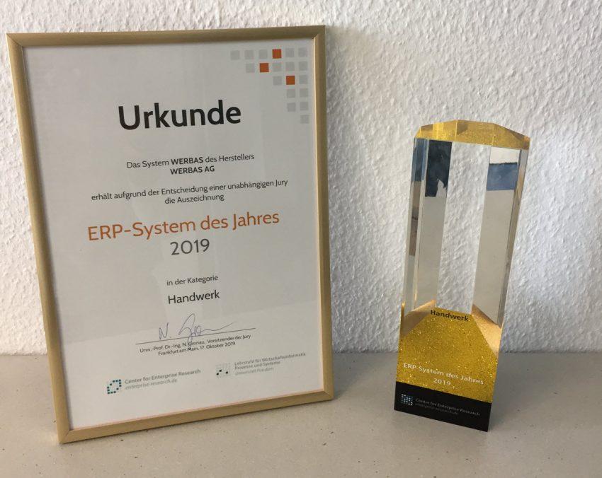 ERP-System des Jahres 2019